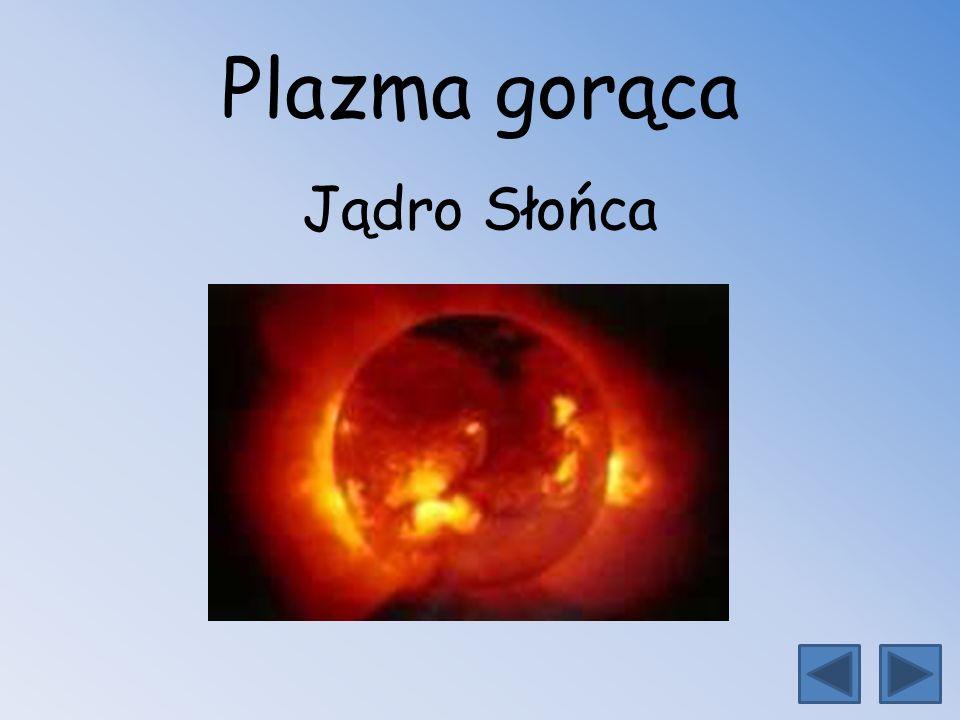 Plazma gorąca Jądro Słońca