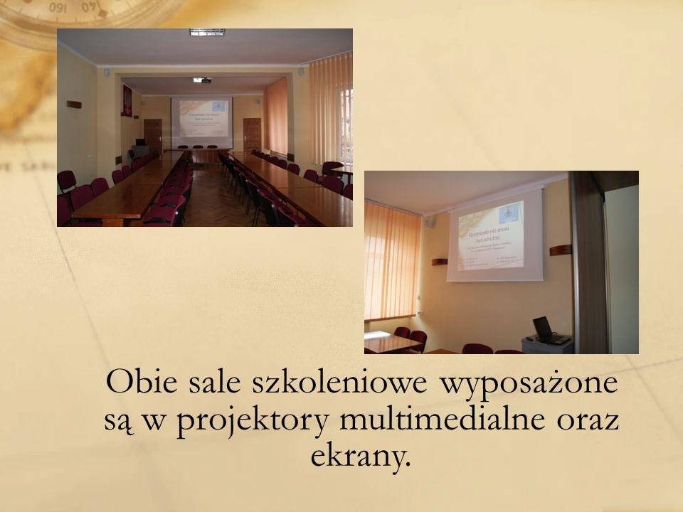 Obie sale szkoleniowe wyposażone
