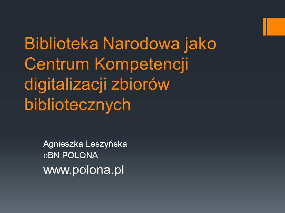Agnieszka Leszyńska cBN POLONA www.polona.pl