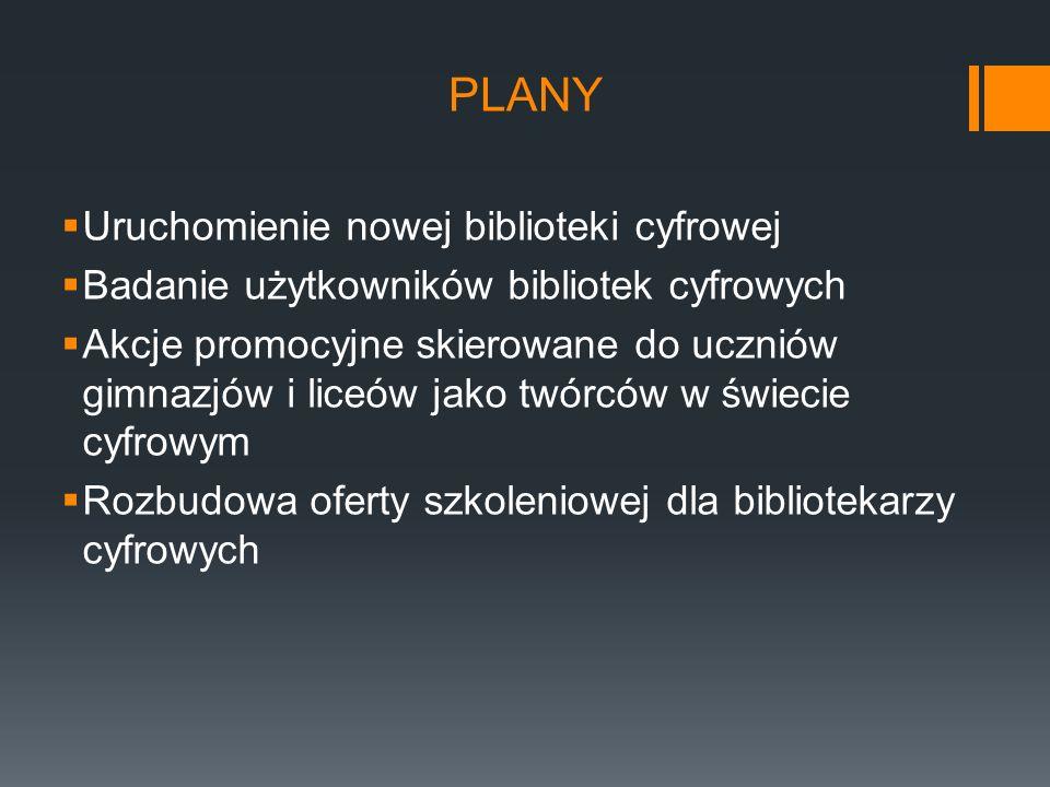 plany Uruchomienie nowej biblioteki cyfrowej