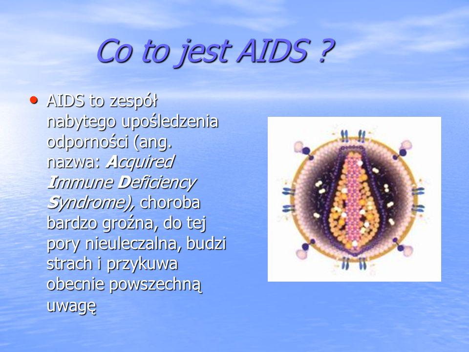 Co to jest AIDS