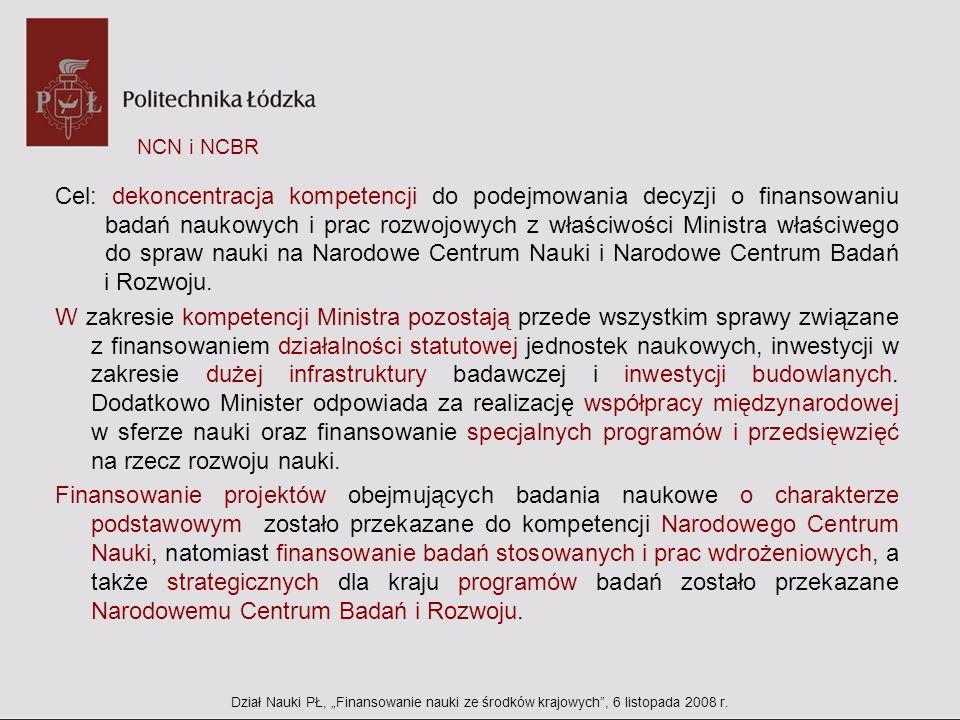 NCN i NCBR