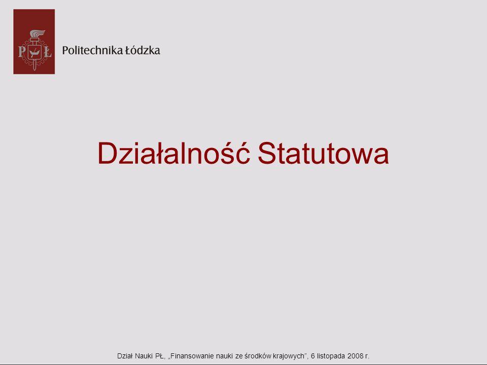 Działalność Statutowa