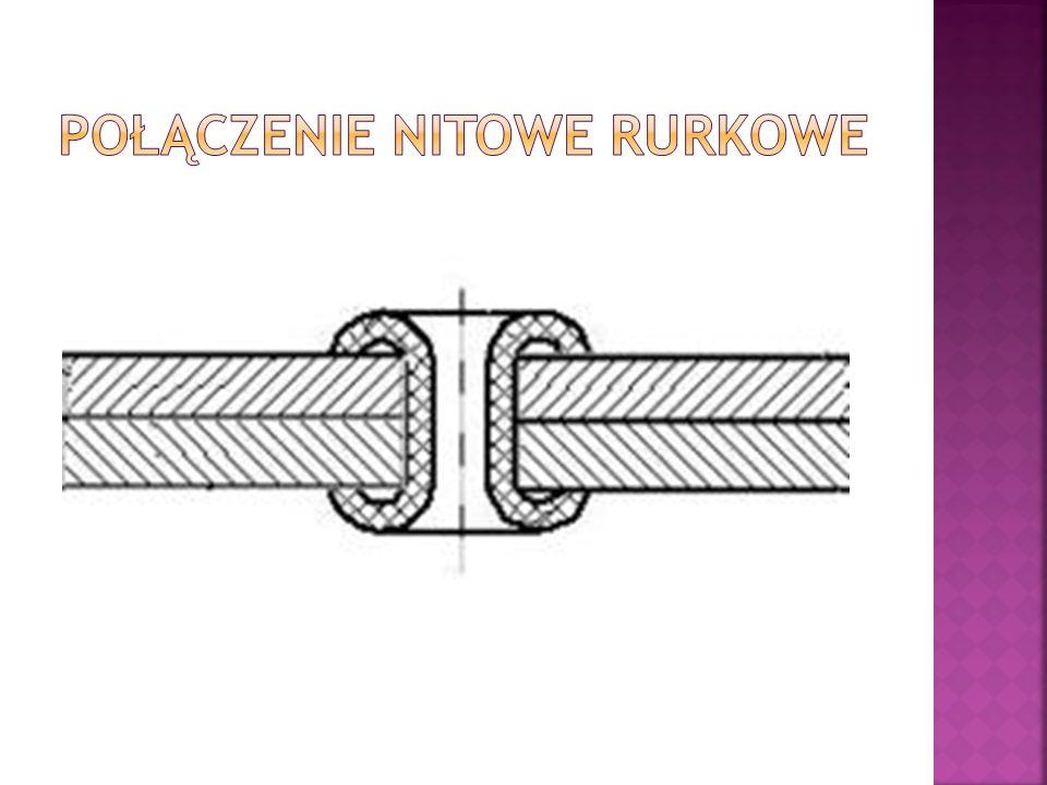 Połączenie nitowe rurkowe