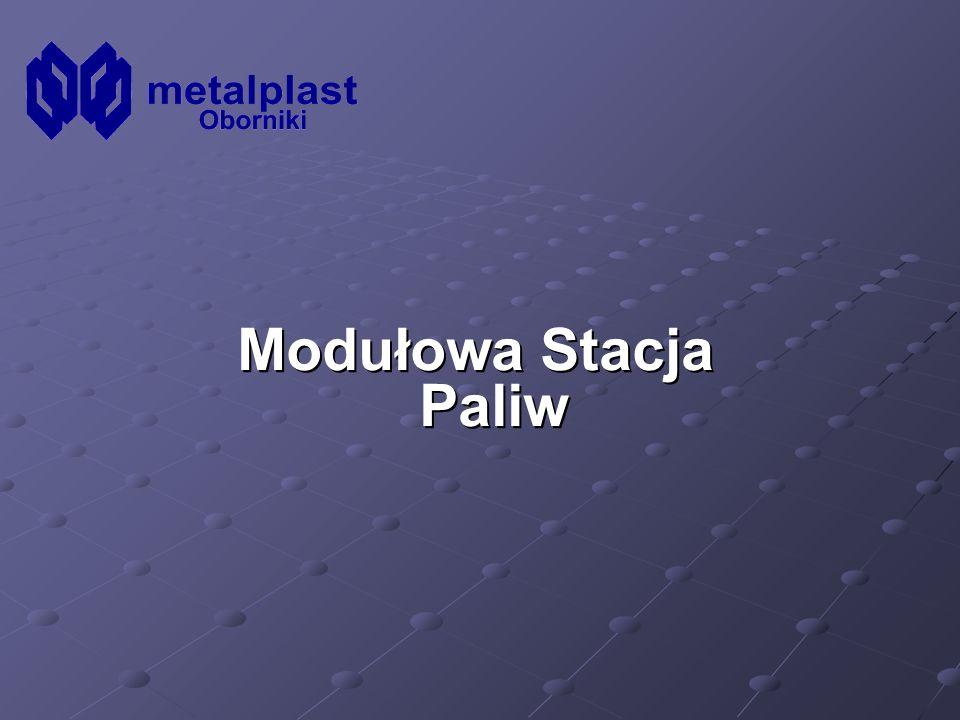 Modułowa Stacja Paliw