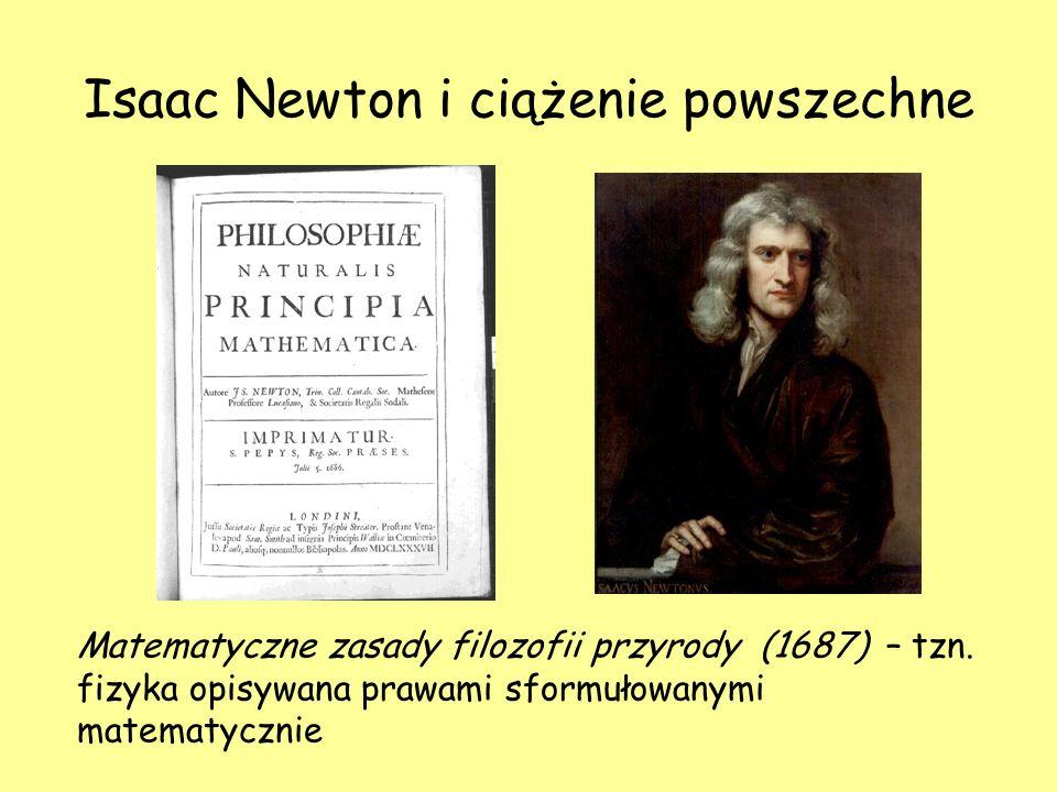 Isaac Newton i ciążenie powszechne