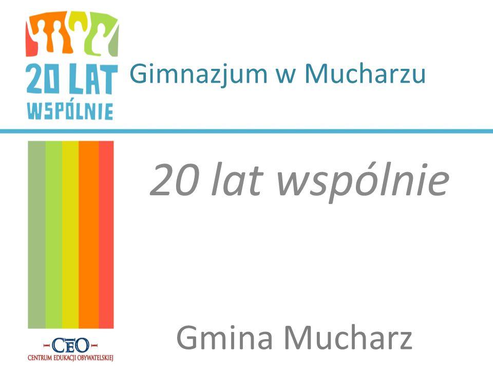Gimnazjum w Mucharzu 20 lat wspólnie Gmina Mucharz