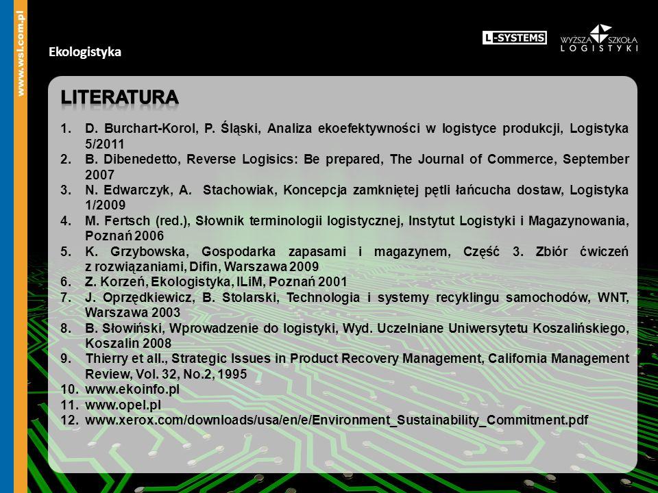 Literatura Ekologistyka