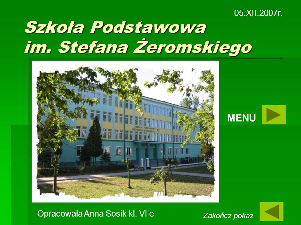 Szkoła Podstawowa im. Stefana Żeromskiego
