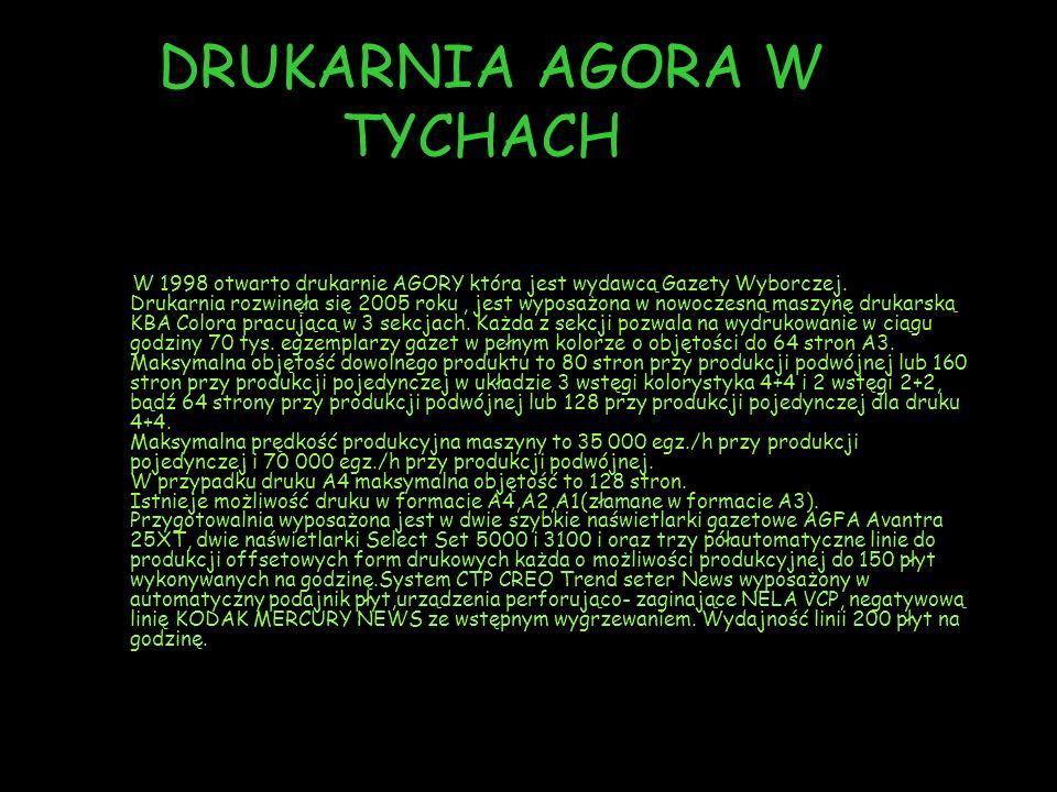 DRUKARNIA AGORA W TYCHACH