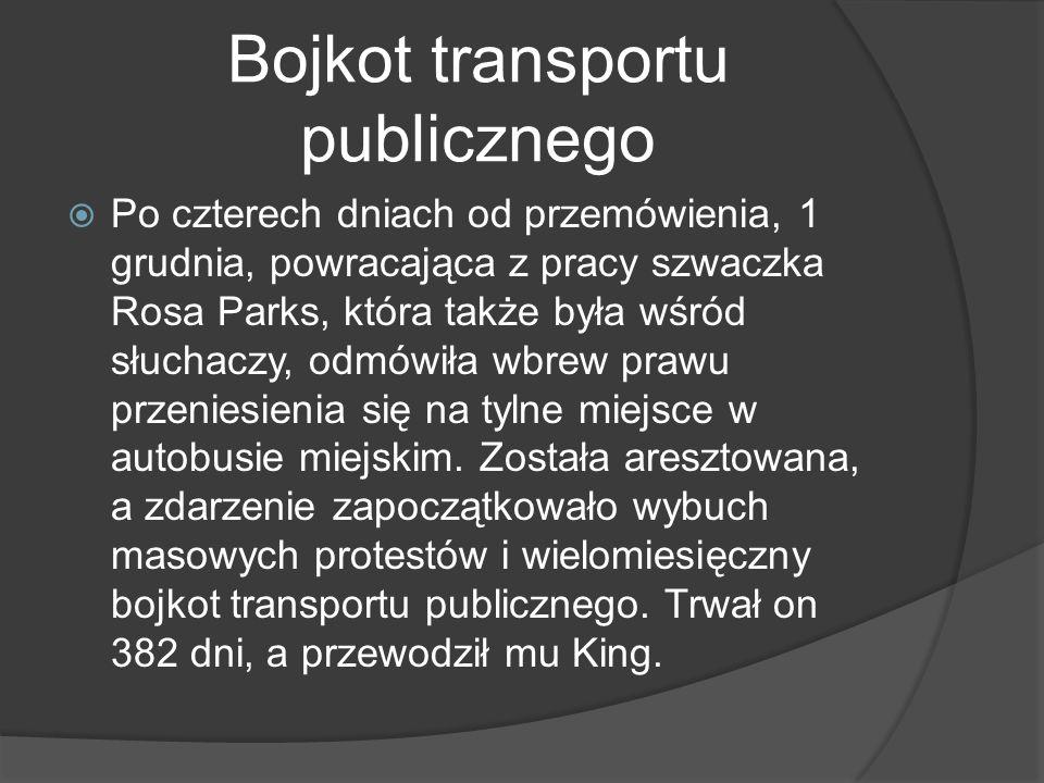 Bojkot transportu publicznego