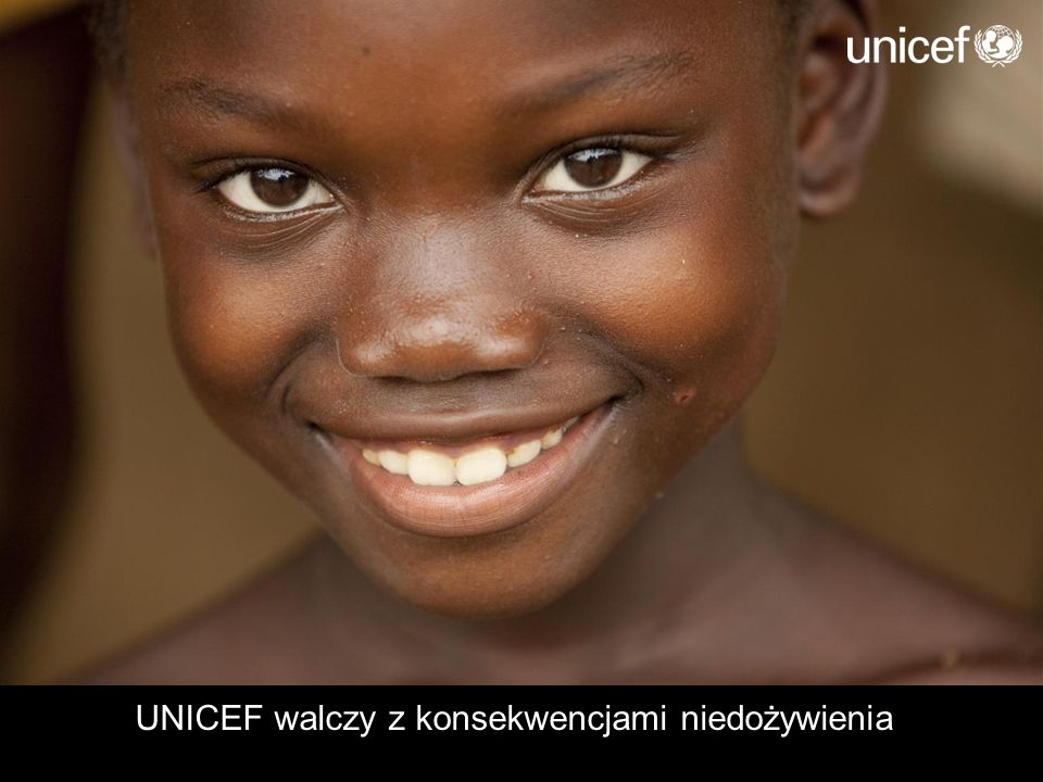UNICEF walczy z konsekwencjami niedożywienia