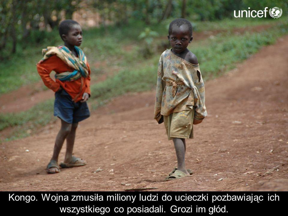 Kongo. Wojna zmusiła miliony ludzi do ucieczki pozbawiając ich wszystkiego co posiadali.