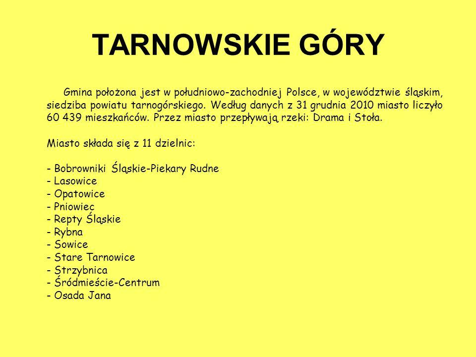 TARNOWSKIE GÓRY