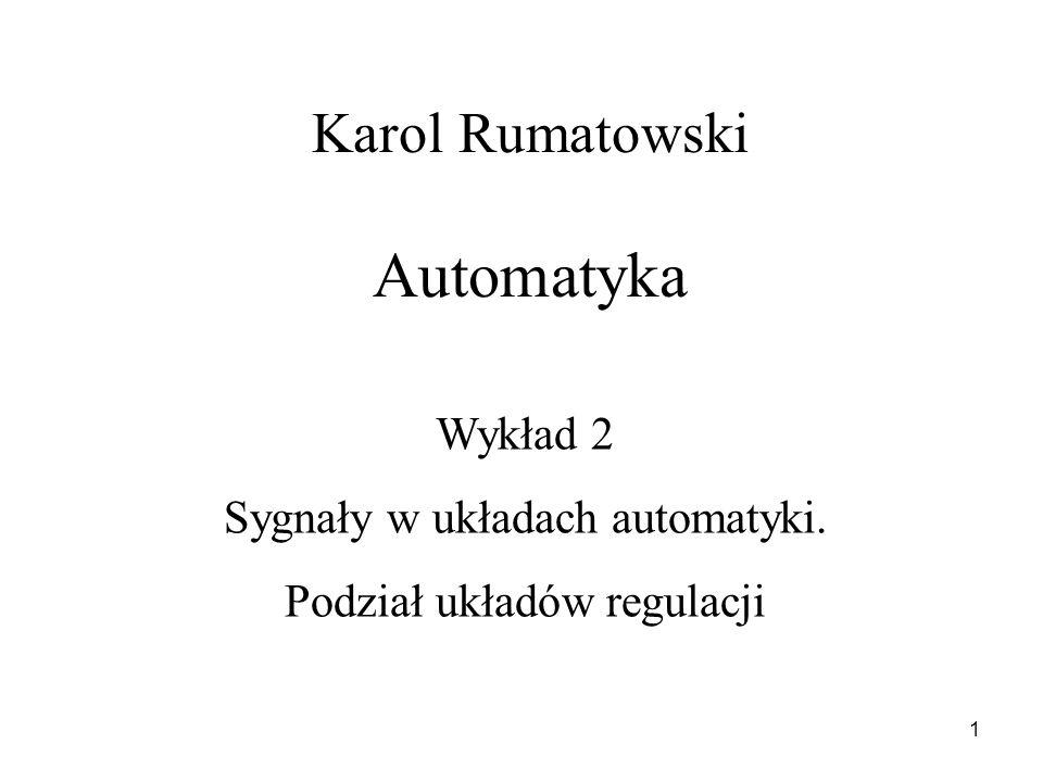 Karol Rumatowski Automatyka