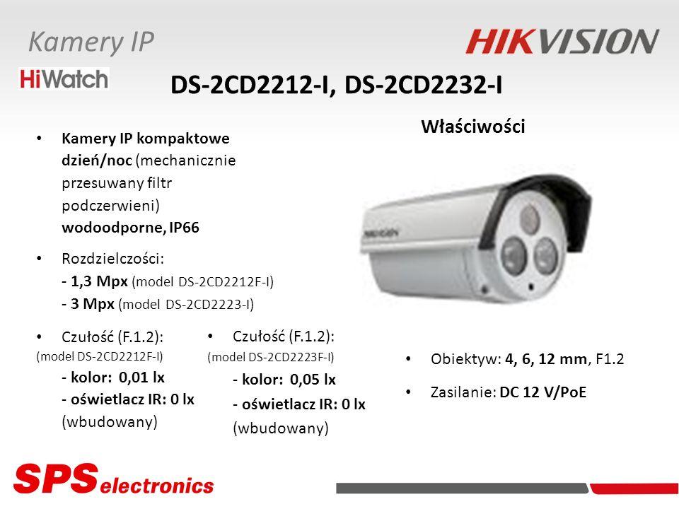 DS-2CD2212-I, DS-2CD2232-I Właściwości