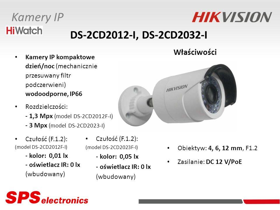 DS-2CD2012-I, DS-2CD2032-I Właściwości
