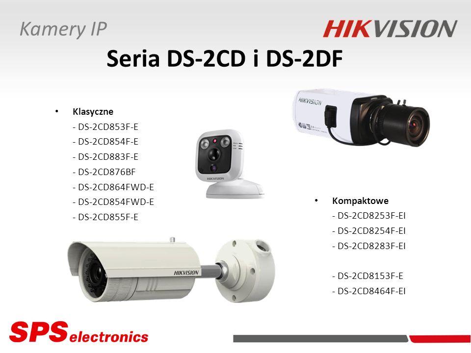 Seria DS-2CD i DS-2DF Kamery IP Klasyczne - DS-2CD853F-E