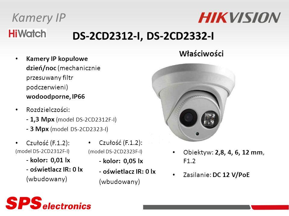 DS-2CD2312-I, DS-2CD2332-I Właściwości