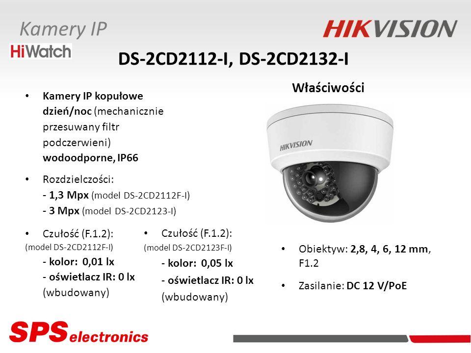 DS-2CD2112-I, DS-2CD2132-I Właściwości