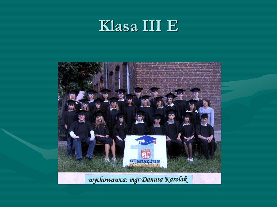 Klasa III E
