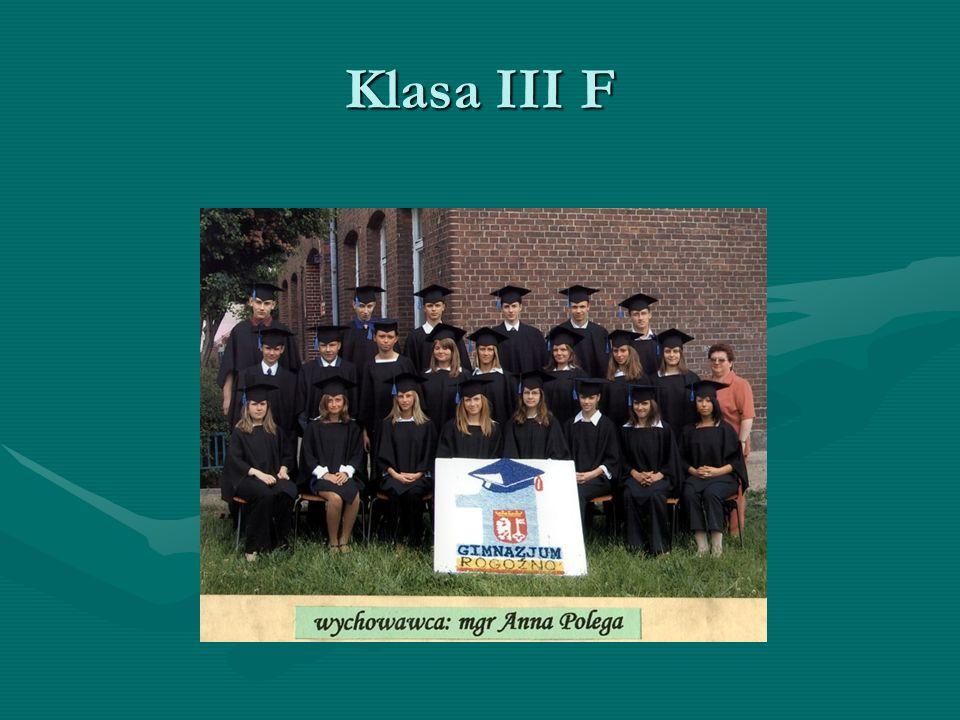 Klasa III F