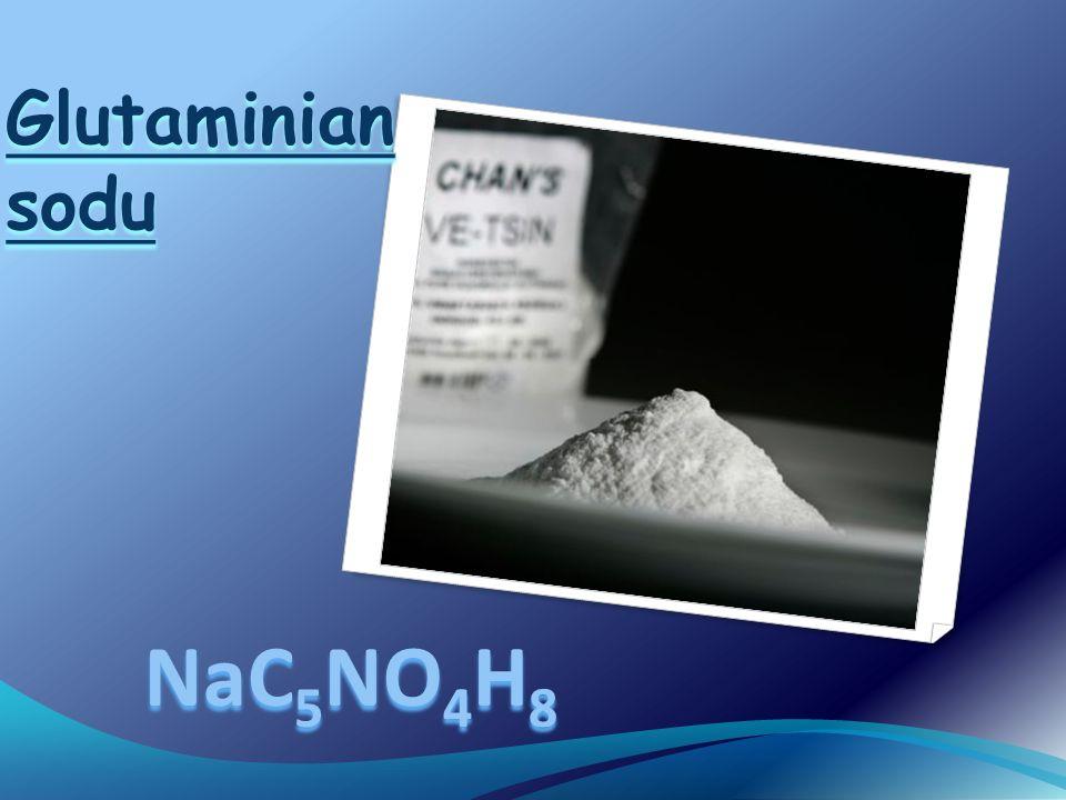 Glutaminian sodu NaC5NO4H8