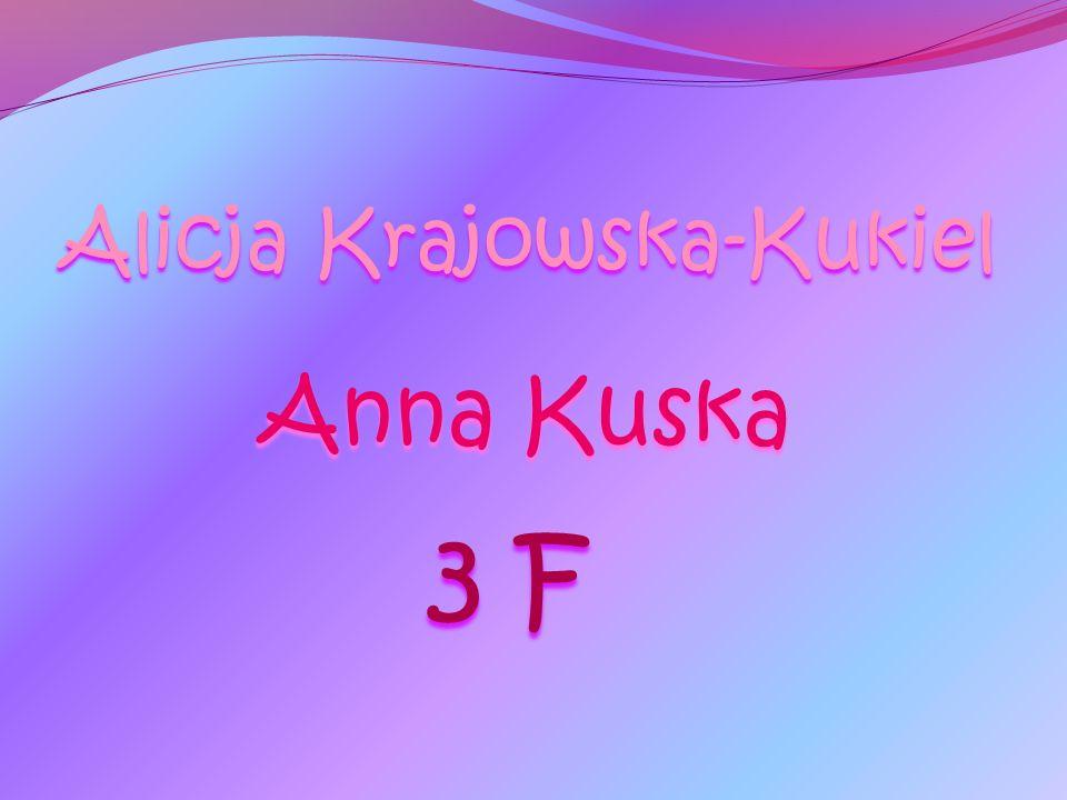 Alicja Krajowska-Kukiel