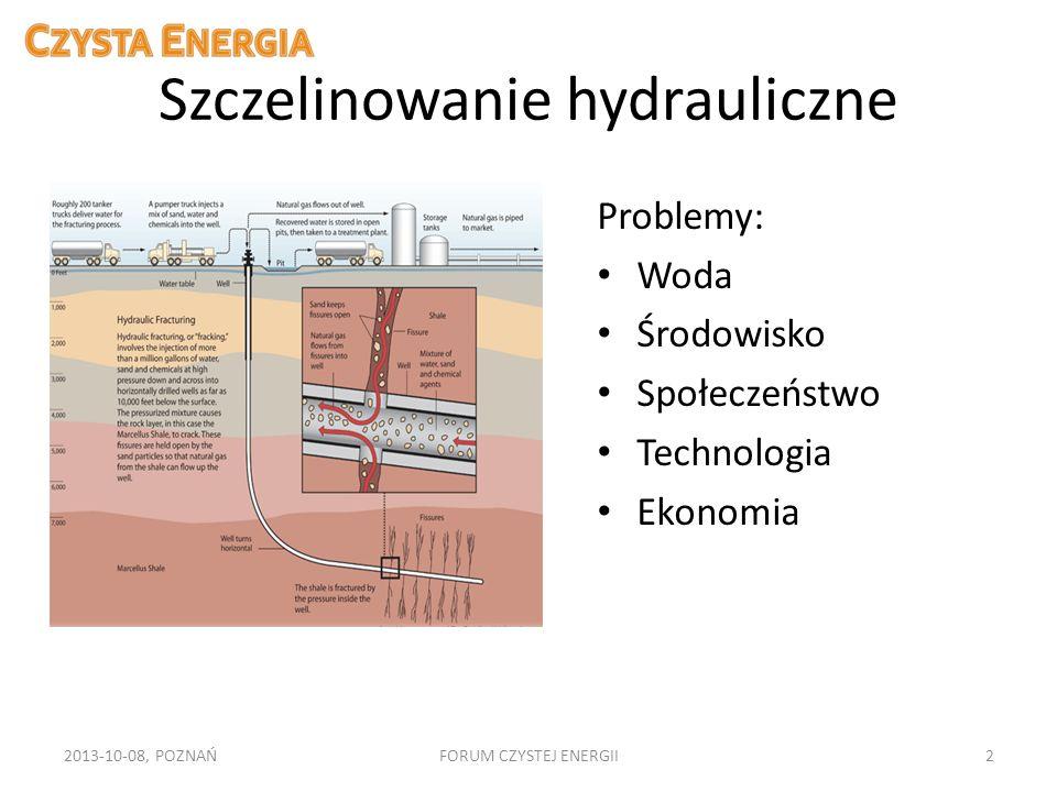 Szczelinowanie hydrauliczne