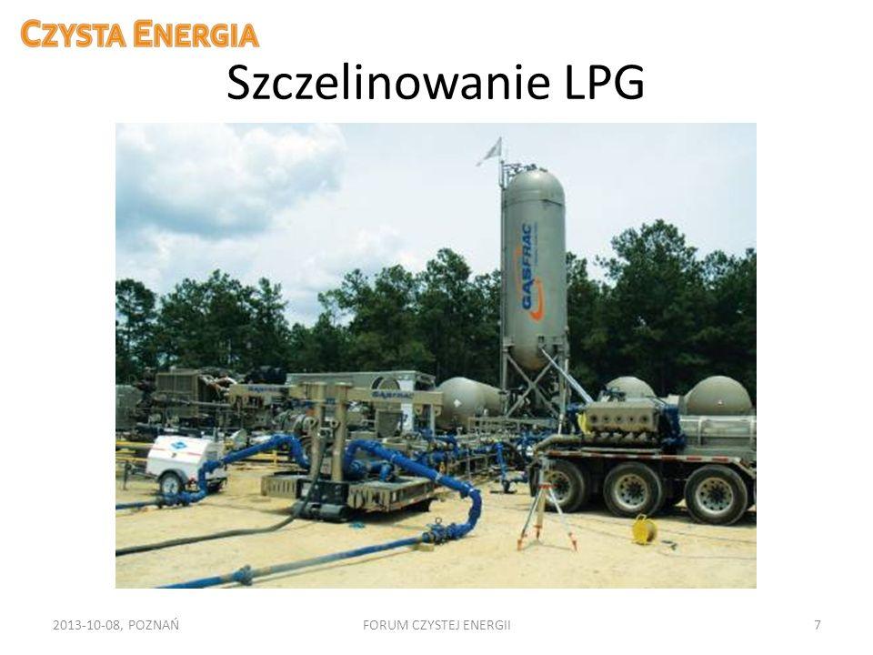 Szczelinowanie LPG 2013-10-08, POZNAŃ FORUM CZYSTEJ ENERGII