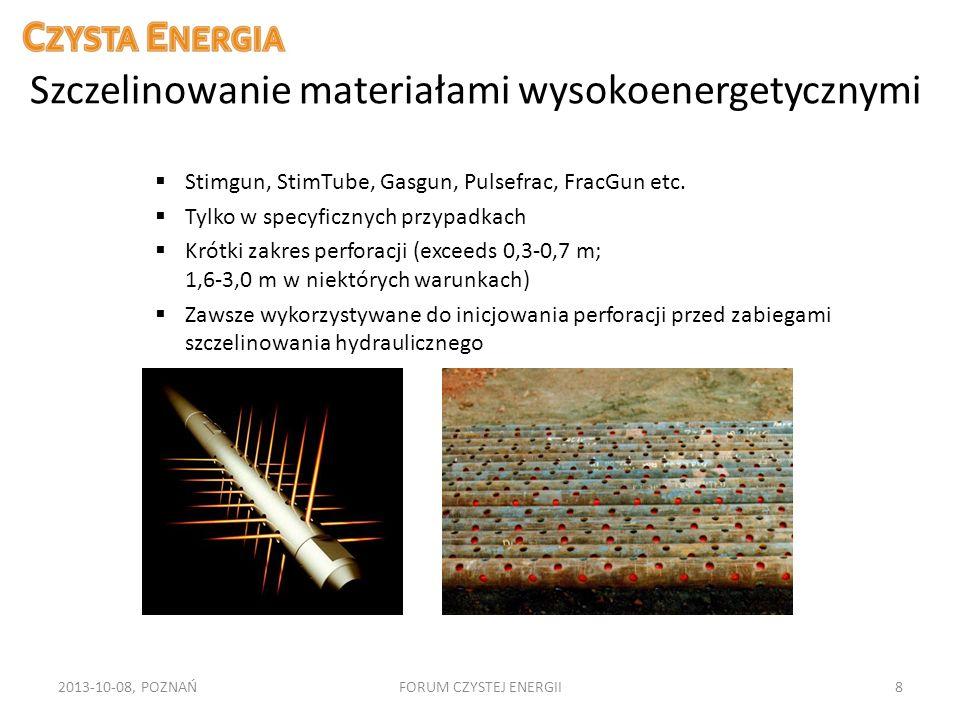 Szczelinowanie materiałami wysokoenergetycznymi
