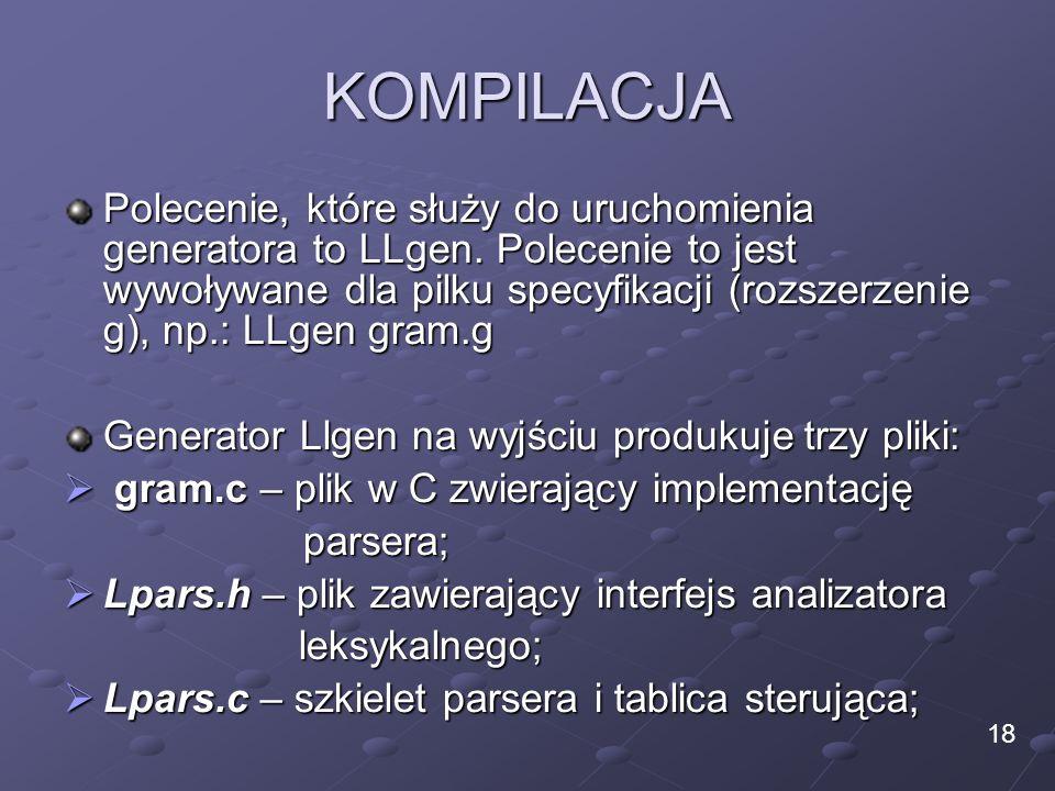 KOMPILACJA