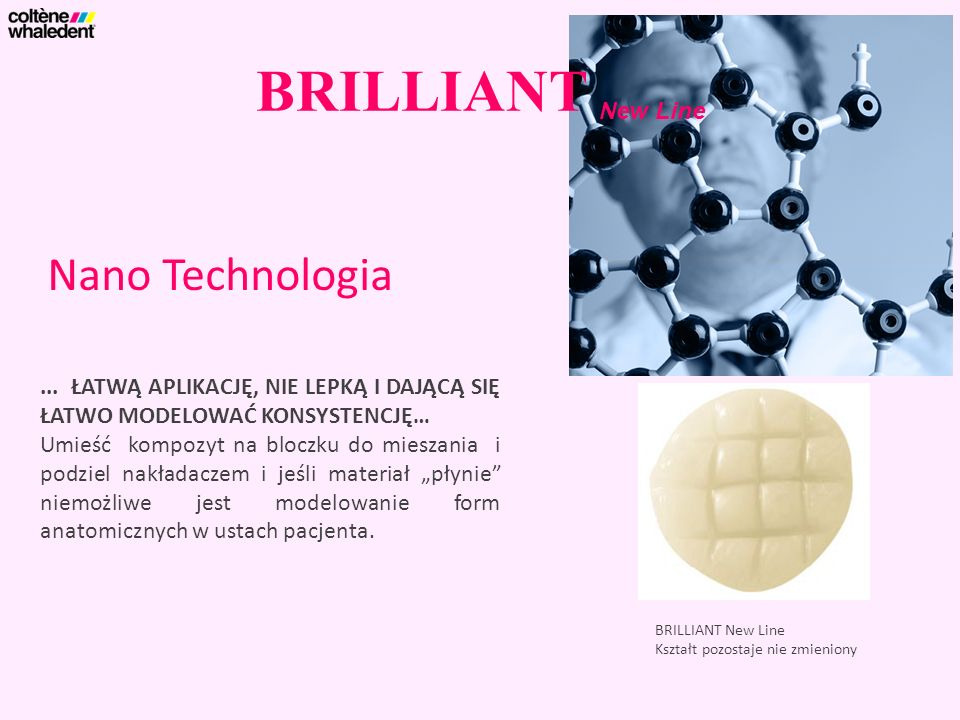 BRILLIANT New Line Nano Technologia