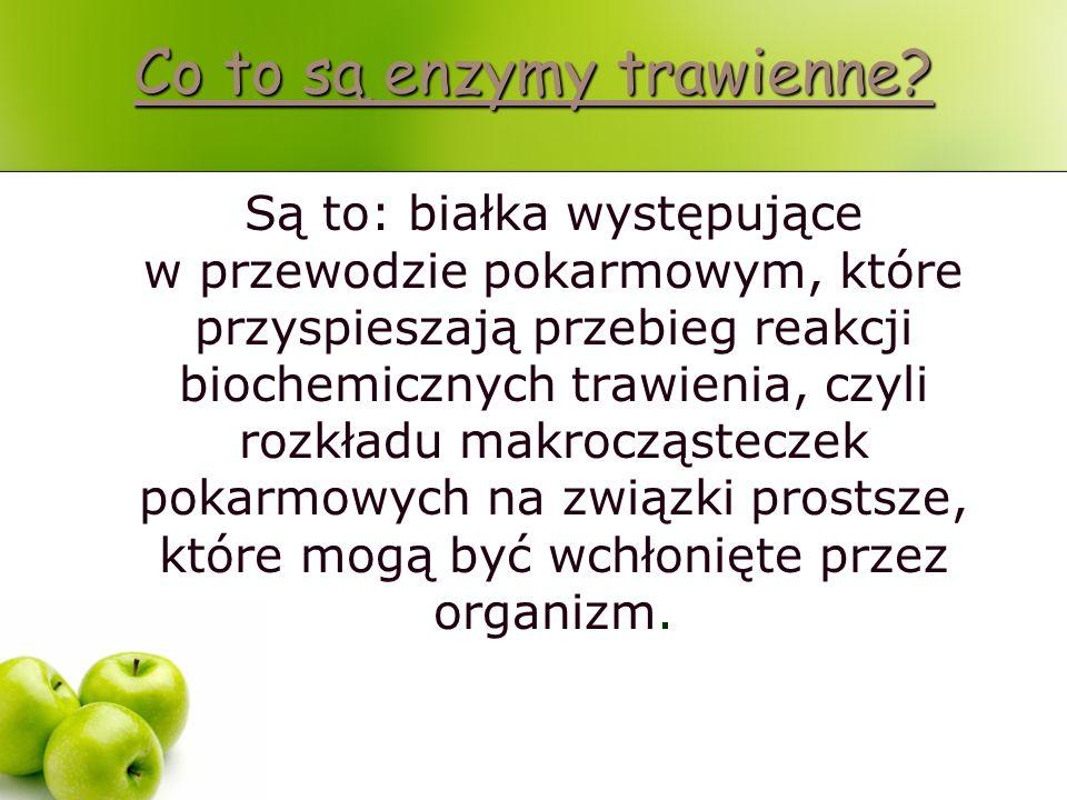 Co to są enzymy trawienne