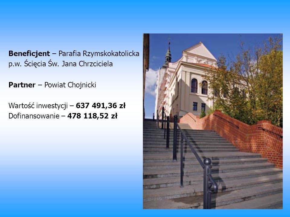 Beneficjent – Parafia Rzymskokatolicka p. w. Ścięcia Św