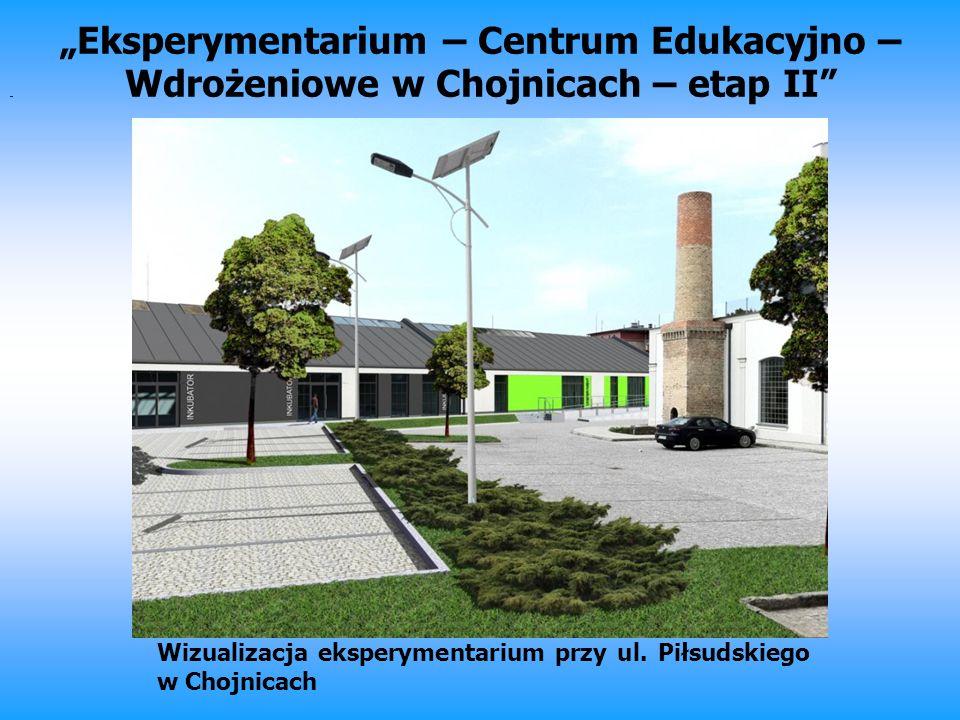 """""""Eksperymentarium – Centrum Edukacyjno –Wdrożeniowe w Chojnicach – etap II"""