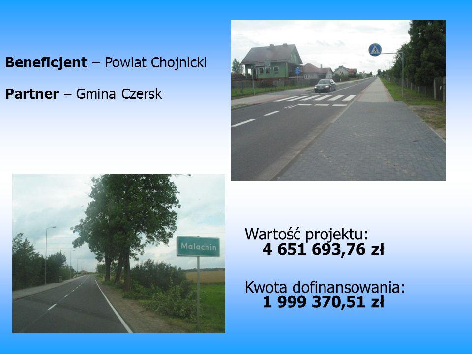 Beneficjent – Powiat Chojnicki Partner – Gmina Czersk