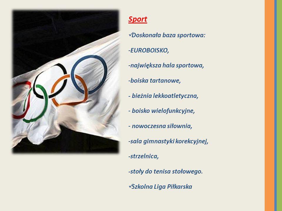 Sport Doskonała baza sportowa: EUROBOISKO, największa hala sportowa,