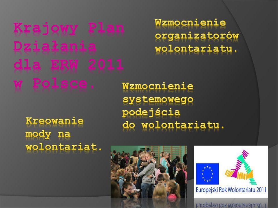 Krajowy Plan Działania dla ERW 2011 w Polsce.