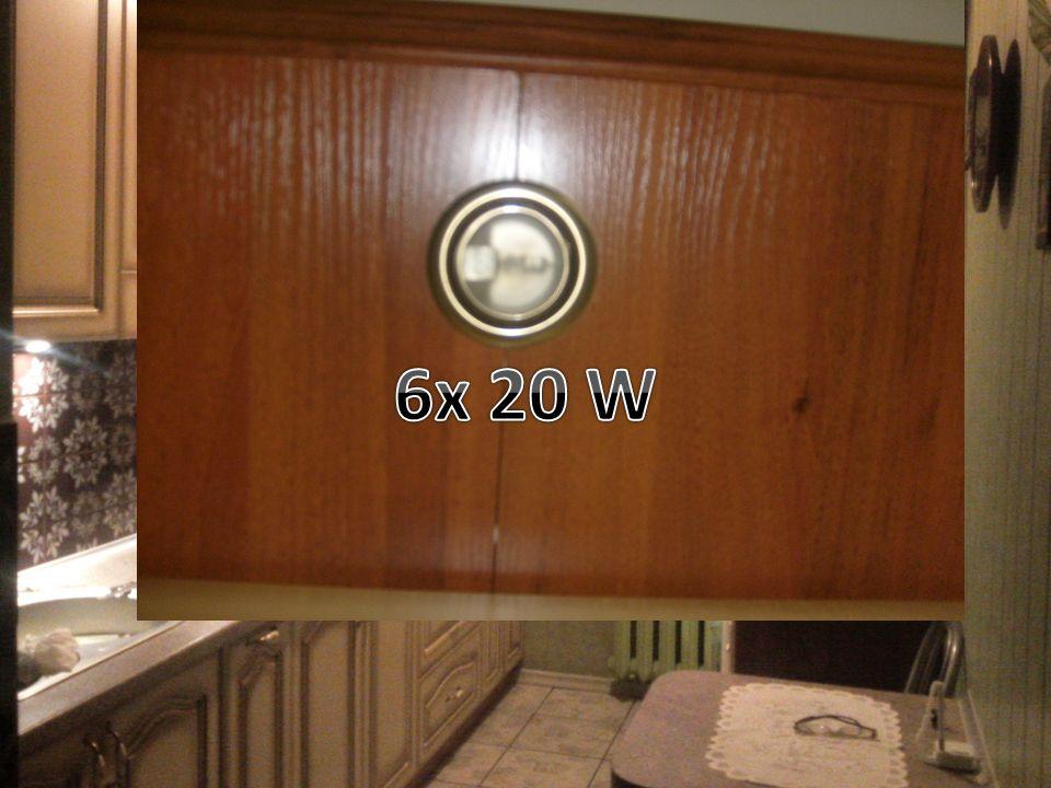 6x 20 W