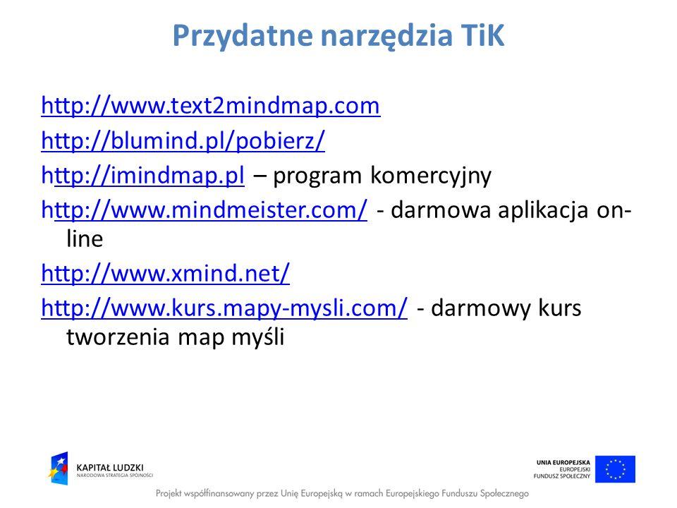 Przydatne narzędzia TiK