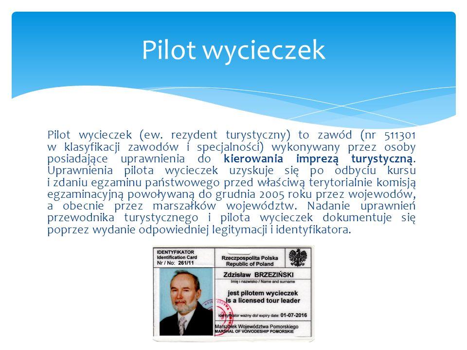 Pilot wycieczek