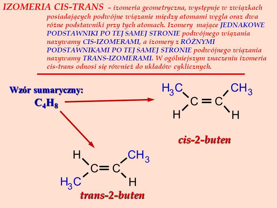 H C H C cis-2-buten trans-2-buten