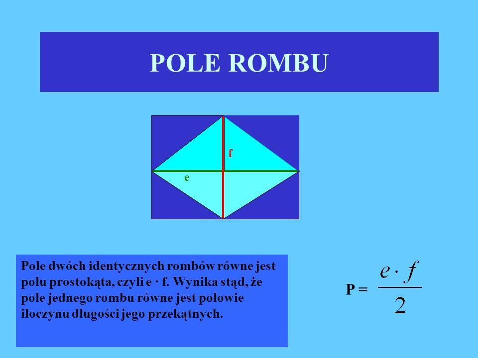 POLE ROMBU f. e.