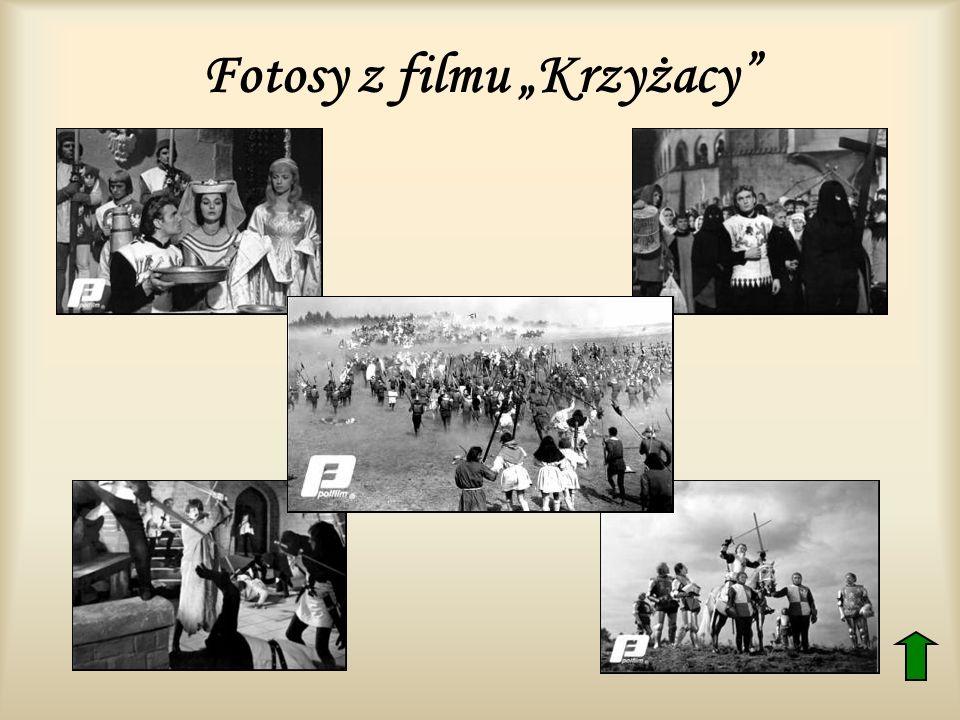"""Fotosy z filmu """"Krzyżacy"""