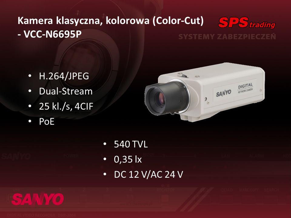 Kamera klasyczna, kolorowa (Color-Cut) - VCC-N6695P