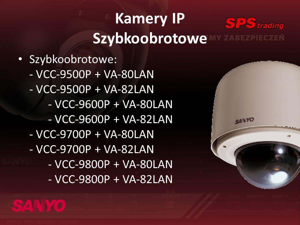 Kamery IP Szybkoobrotowe