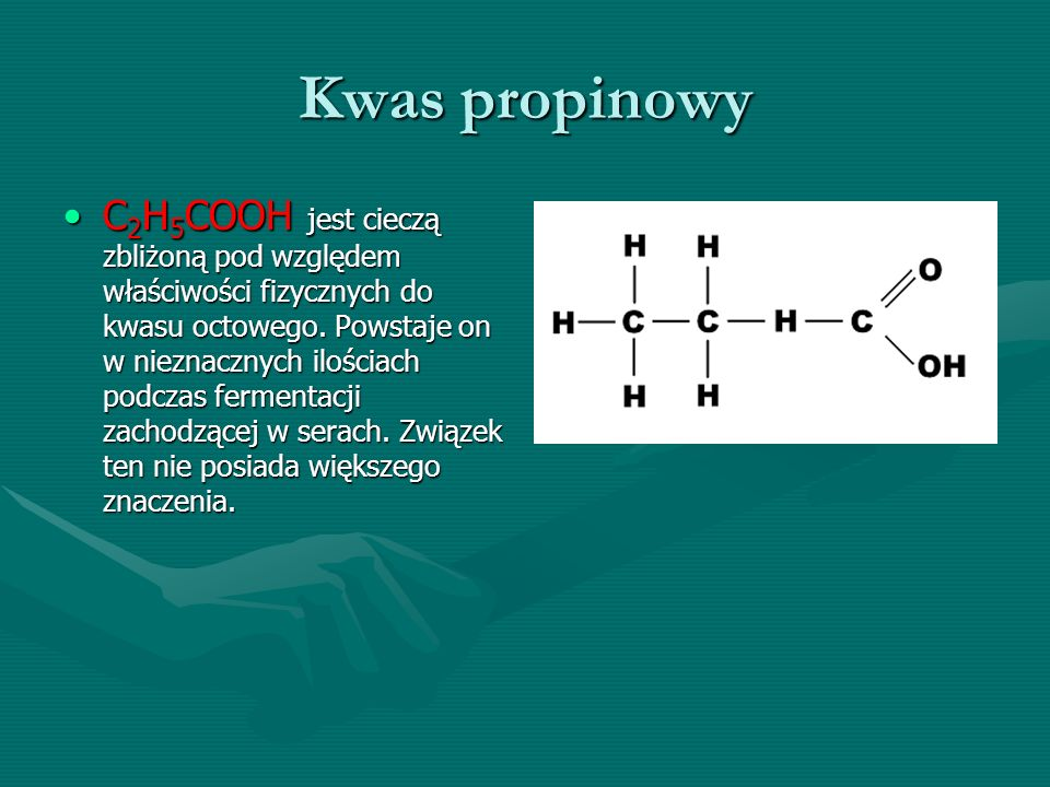 Kwas propinowy