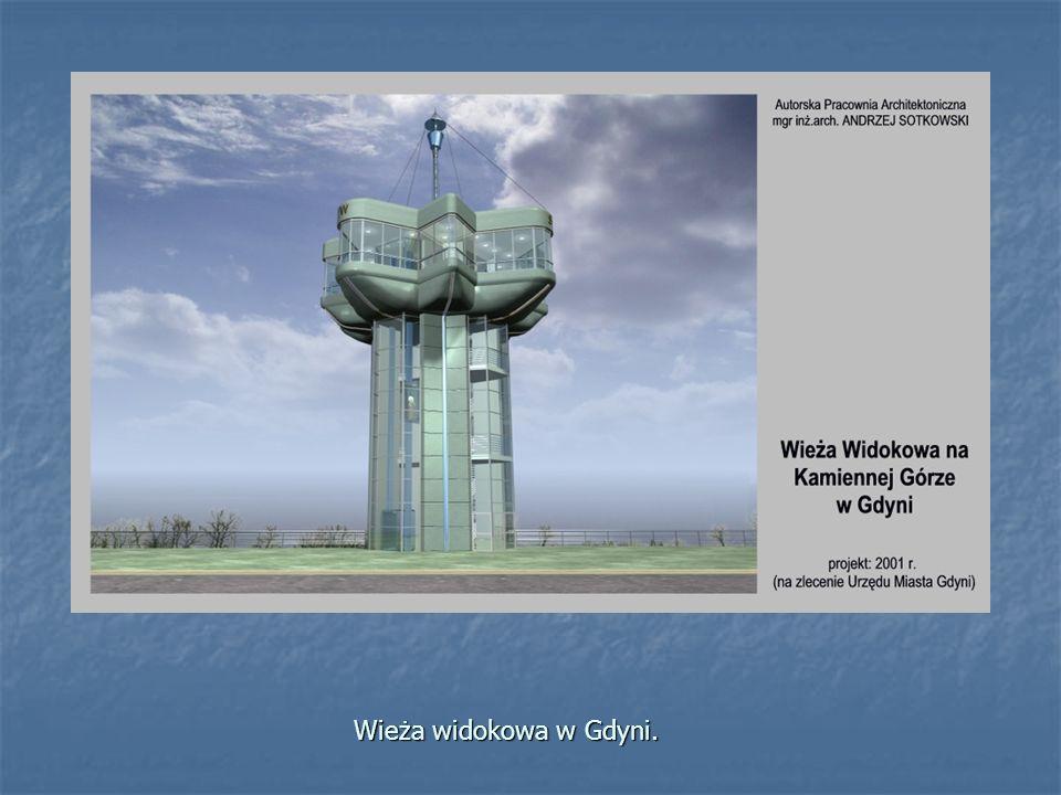 Wieża widokowa w Gdyni.