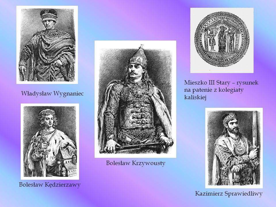 Mieszko III Stary – rysunek na patenie z kolegiaty kaliskiej